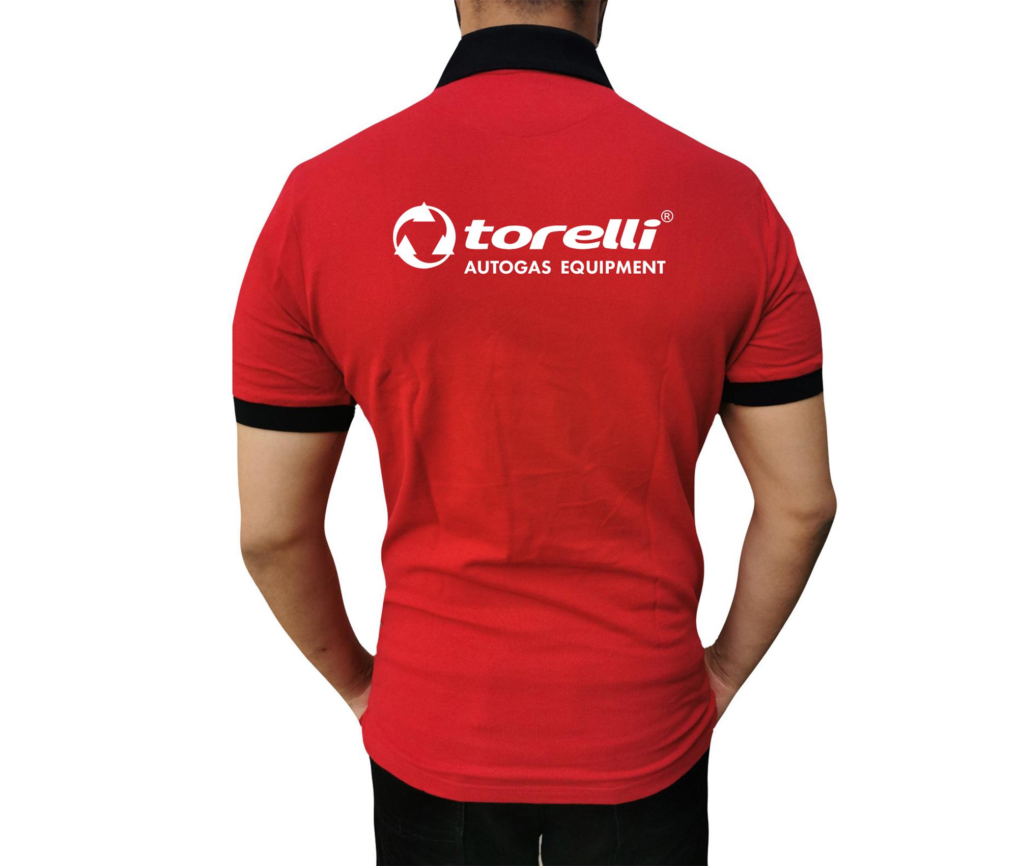 Футболка-Поло красная Torelli